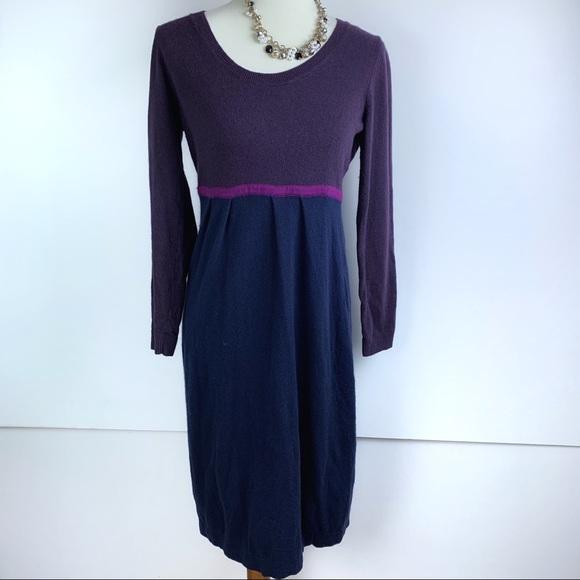 Boden Dresses & Skirts - Biden | Purple & Blue Knit Dress | 2465